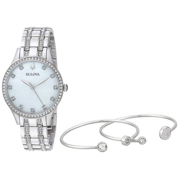 ブローバ Bulova 女性用 腕時計 レディース ウォッチ パール 96X145