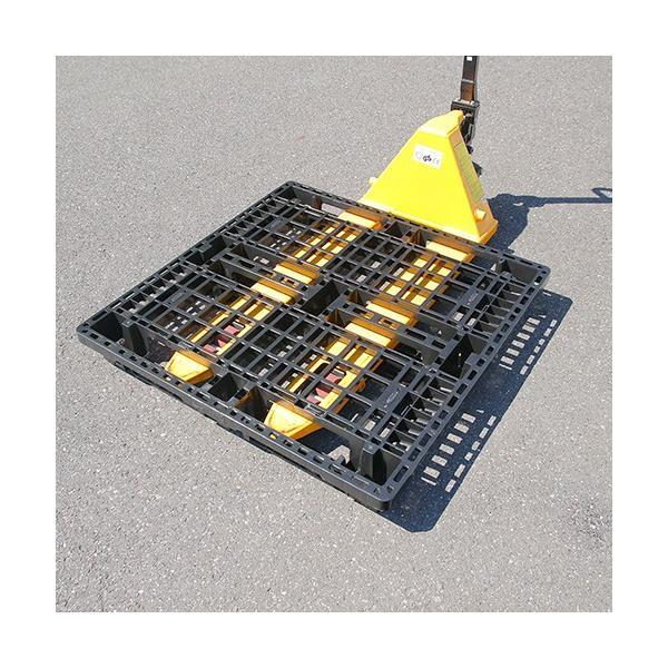 四国中国エリア用 物流(樹脂)プラスチックパレット すのこ 1100x1100 10枚セット|mj-wholesale|05