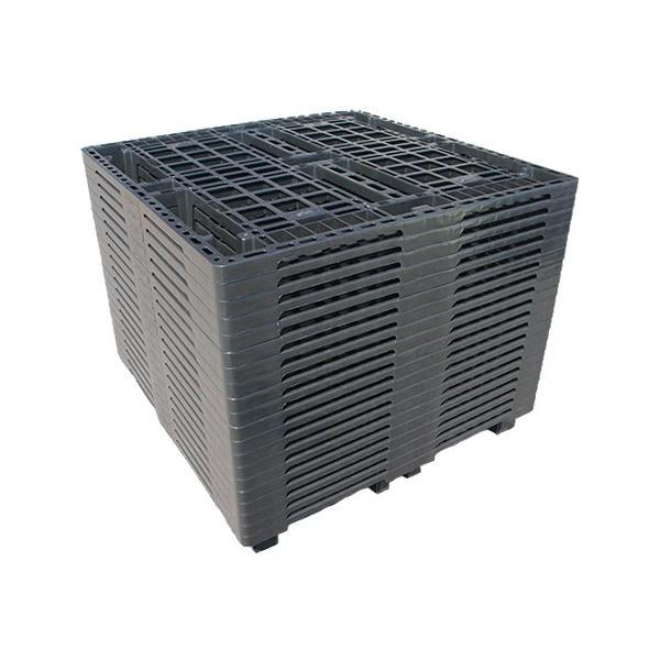 四国中国エリア用 物流(樹脂)プラスチックパレット すのこ 1100x1100 20枚セット|mj-wholesale|02