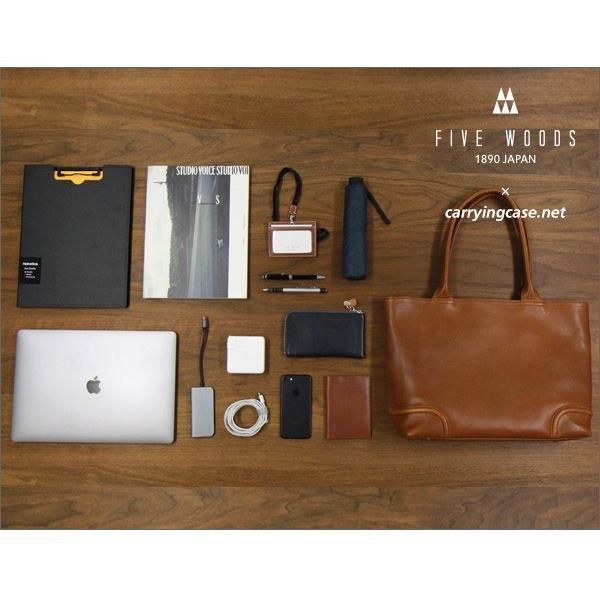 ファイブウッズ プラトー オールレザートート FIVE WOODS x Carryingcase.net コラボレート PLATEAU #39911 MacBook Pro 15インチ対応 送料無料(沖縄は+900円)|mjsoft|14