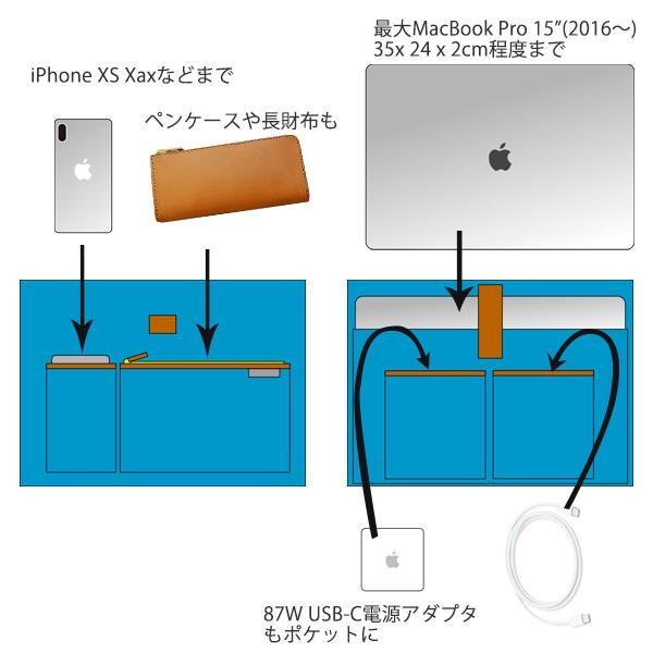 ファイブウッズ プラトー オールレザートート FIVE WOODS x Carryingcase.net コラボレート PLATEAU #39911 MacBook Pro 15インチ対応 送料無料(沖縄は+900円)|mjsoft|07