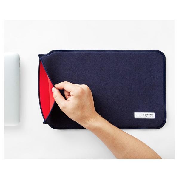 ペロカリエンテ Perrocaliente LIGHT FITTER for MacBook series フラット インナーケース ストレッチコットン ジャージ素材 ウェットスーツ素材 11 12 13
