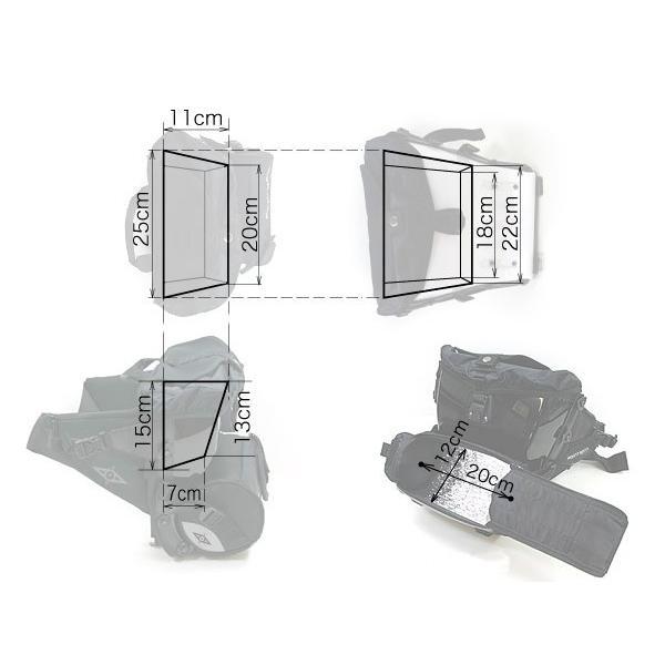 ボブルビー 5リットル カム ウエストバッグ ヒップ 安心の日本正規品 旧SAM  X CASE付き Point65 BOBLBEE 5L CAM 送料無料(沖縄は+900円)|mjsoft|04