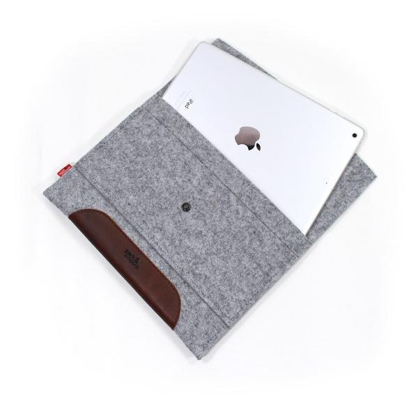 パック アンド スムーチ アイパッドエア用 ケース メリノ ドイツ製 ハンドメイド Pack and Smooch Merino for iPad Air1/2 ゆうパケット対応商品|mjsoft|02