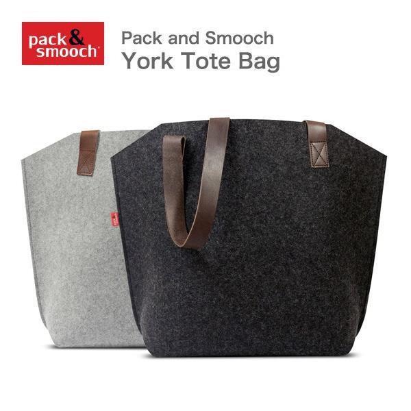 パック アンド スムーチ ヨーク トートバッグ ドイツ製 ハンドメイド Pack and Smooch York Tote Bag プレゼント ギフト 送料無料(沖縄は+900円)|mjsoft