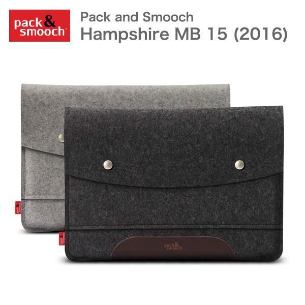 パック アンド スムーチ マックブックプロ 15インチ用 Late 2016専用 保護ケース ハンプシャー ドイツ製 ハンドメイド Pack and Smooch Hampshire MB 15 (2016)|mjsoft