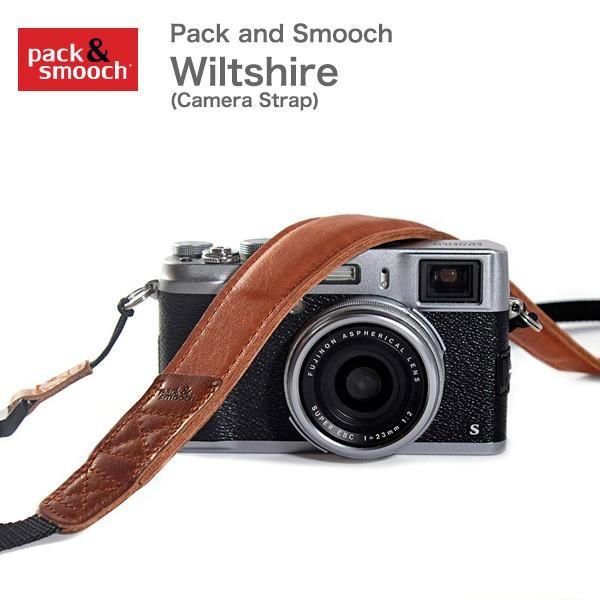 Pack and Smooch ウールフェルト 高級レザー製 カメラ ショルダーストラップ Wiltshire ドイツ製  ハンドメイド 手作り  送料無料(沖縄は+900円)|mjsoft