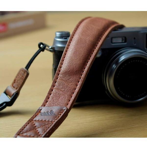 Pack and Smooch ウールフェルト 高級レザー製 カメラ ショルダーストラップ Wiltshire ドイツ製  ハンドメイド 手作り  送料無料(沖縄は+900円)|mjsoft|02