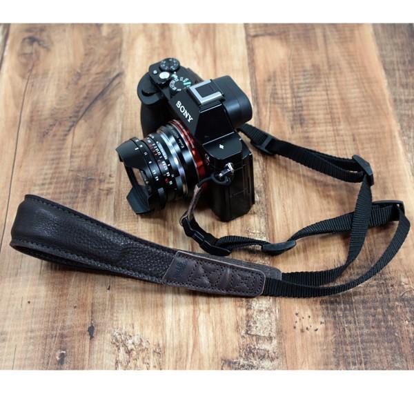 Pack and Smooch ウールフェルト 高級レザー製 カメラ ショルダーストラップ Wiltshire ドイツ製  ハンドメイド 手作り  送料無料(沖縄は+900円)|mjsoft|06