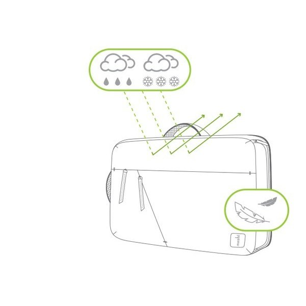 moshi バッグ モシ ベンチュロ バックパック ボディバッグ メンズ Venturo  スタンダードモデル MacBook Pro 15 インチ対応 父の日 送料無料(沖縄は+900円)|mjsoft|07