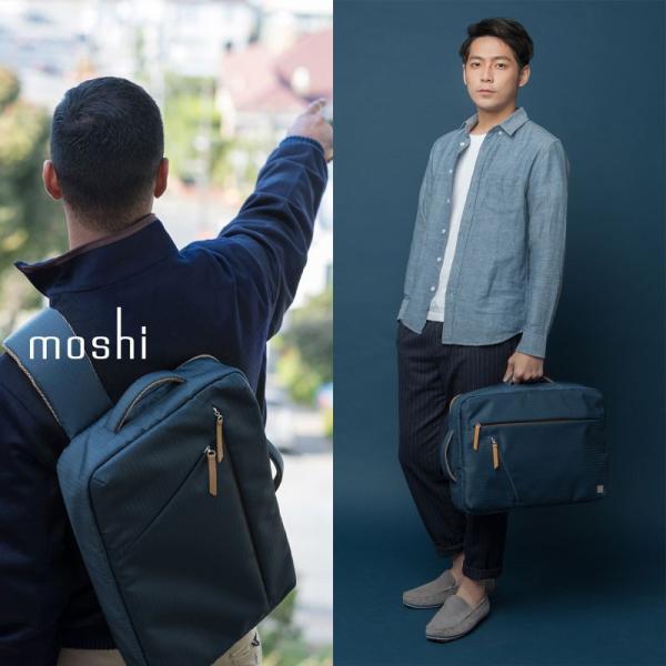 moshi バッグ モシ ベンチュロ バックパック ボディバッグ メンズ Venturo  スタンダードモデル MacBook Pro 15 インチ対応 父の日 送料無料(沖縄は+900円)|mjsoft|08