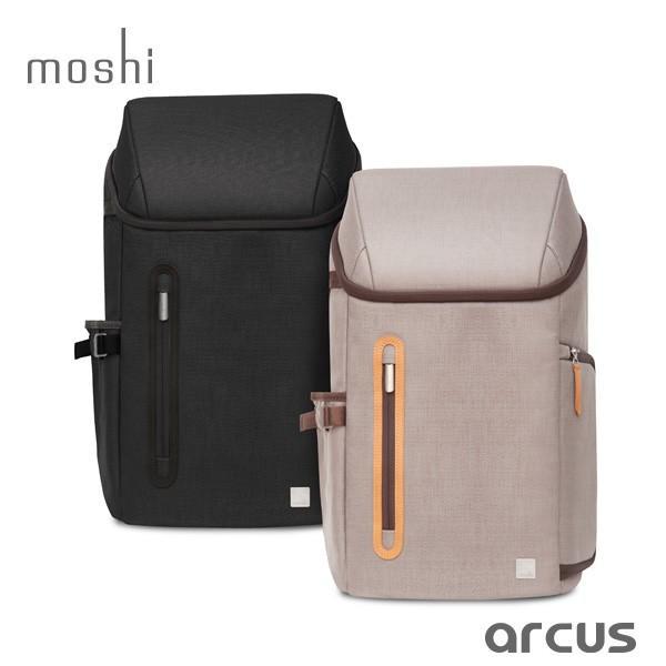 moshi  Arcus 多機能バックパック アーカス MacBook Pro 15 対応  旅行 トラベル リュック 大型 軽量 出張 ビジネス シューズ収納 送料無料(沖縄は+900円)|mjsoft
