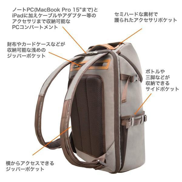 moshi  Arcus 多機能バックパック アーカス MacBook Pro 15 対応  旅行 トラベル リュック 大型 軽量 出張 ビジネス シューズ収納 送料無料(沖縄は+900円)|mjsoft|05