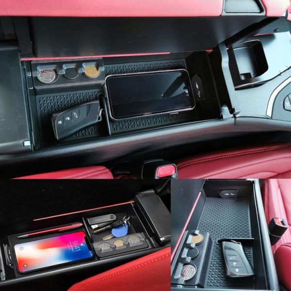 レクサスUX UX200 UX250h コンソールボックストレイ 小物 収納 アクセサリー 便利 グッズ カスタムパーツ 内装 ハイブリッド 10系 HYBRID LEXUS UX SPORTS|mkcorporation8|09