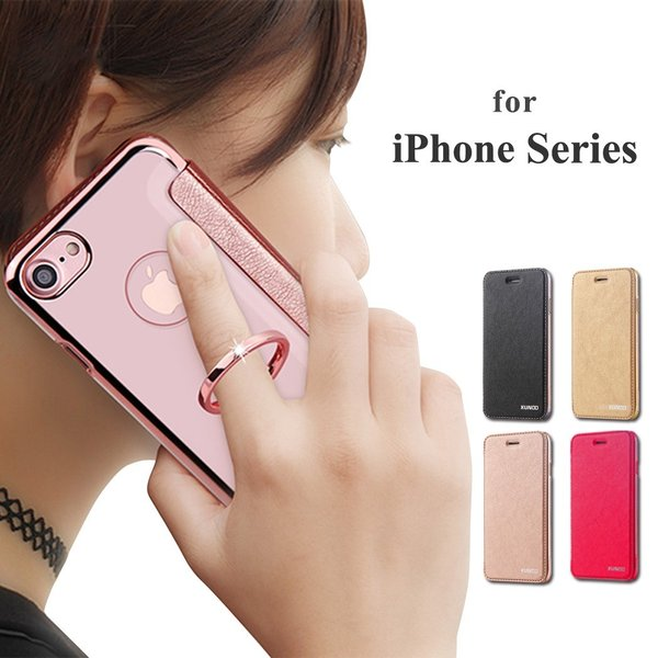 285061e16b iPhone SE ケース iPhone 5s ケース iPhone 5 ケース カバー スマホケース おしゃれ 女性 フィンガーリング ピンク ...