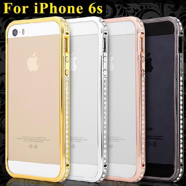 5d1c4e1677 iPhone6s ケース バンパー iPhone6 ケース スマホケース おしゃれ 携帯カバー ラインストーン キラキラ 女性 人気 ...
