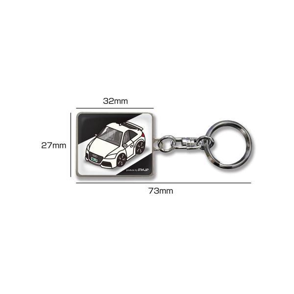 MKJP カスタムキーホルダー ニッサン フェアレディZ Z32 車カラー:イエロー ゆうメール送料無料|mkjp|03