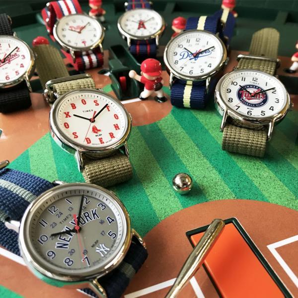 MLB レッドソックス ウィークエンダー MLB トリビュート コレクション TIMEX|mlbshop|06