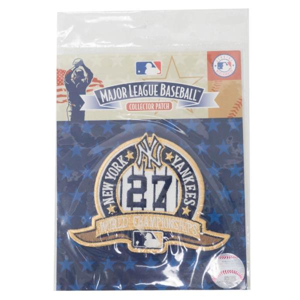 MLB ヤンキース World Champion 27 Time パッチ ワッペン The Emblem Source