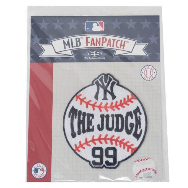 MLB アーロン・ジャッジ ヤンキース Aaron Judge Circle Collection パッチ ワッペン The Emblem Source