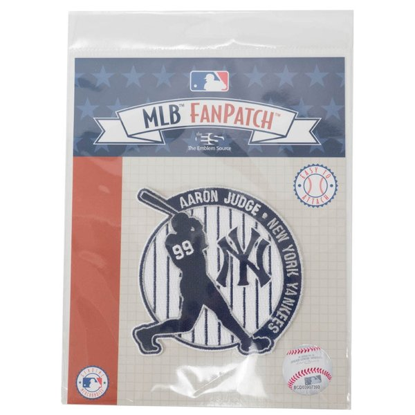 MLB アーロン・ジャッジ ヤンキース The Judge Collection パッチ ワッペン The Emblem Source