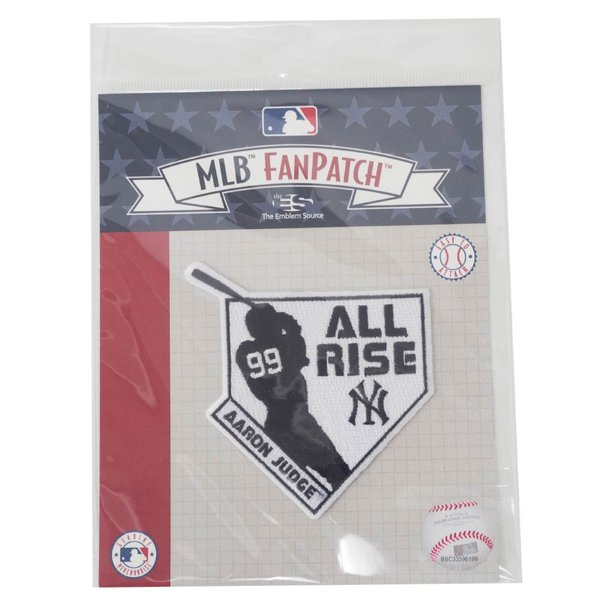 MLB アーロン・ジャッジ ヤンキース All Rise Collection パッチ ワッペン The Emblem Source