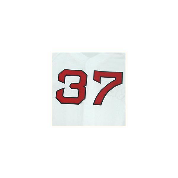 即日発送可 MLB レッドソックス 岡島秀樹 ユニフォーム ホーム マジェスティック Authentic Player ユニフォーム|mlbshop|03