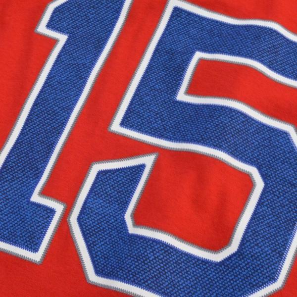 MLB レッドソックス ダスティン・ペドロイア Tシャツ レッド マジェスティック Player Tシャツ|mlbshop|03