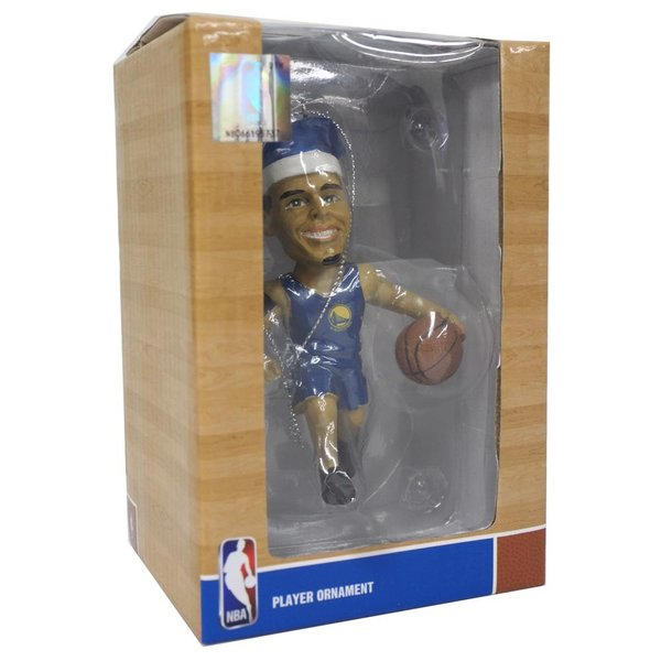 NBA ウォリアーズ ステファン・カリー クリスマスツリー オーナメント フォーエバーコレクタブルズ/Forever Collectibles|mlbshop