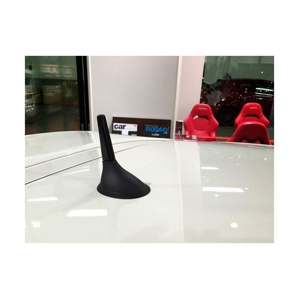 ショートアンテナ FIAT500 ABARTH500 ジュリエッタ Mito AutoStyle ショートアンテナ 60mm|mline|02