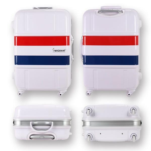 スーツケース Lサイズ(83L)約6日〜長期 大型キャリーバッグ シフレ フレームタイプ B1133T-68 かわいいトリコロール柄は修学旅行に人気です♪