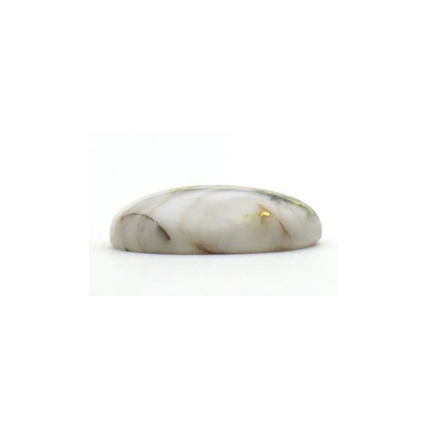 11004 ゴールド イン クォーツ ルース 3.25ct 16-1Mineカリフォルニア産 : 瑞浪鉱物展示館 【送料無料】