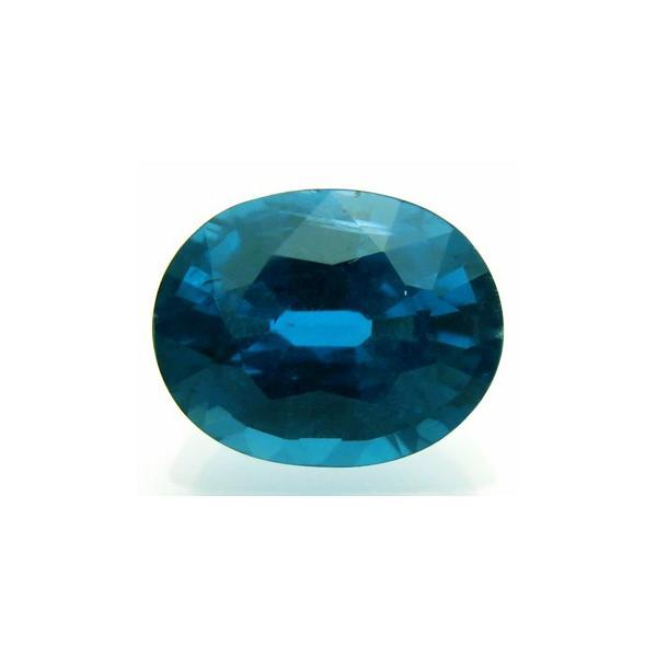 12889 グリーンカイヤナイト 2.32ct クリーンな青緑 ネパール産 : 瑞浪鉱物展示館 【送料無料】