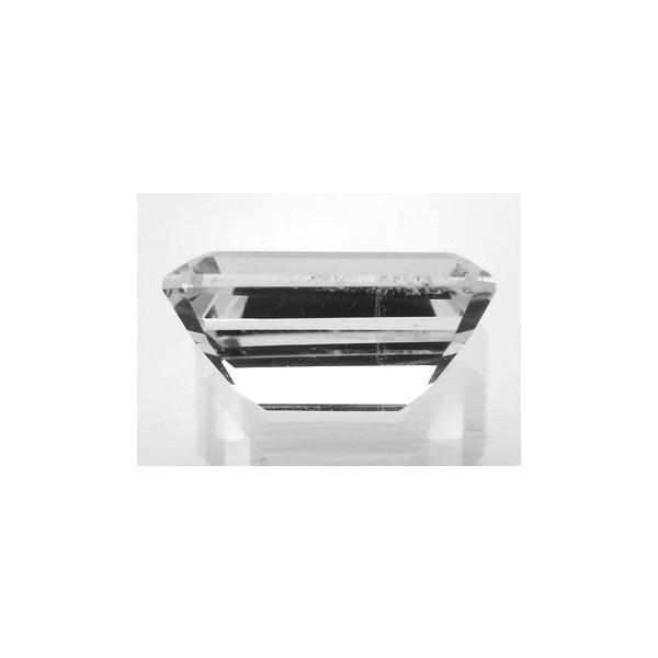 12968 フェナカイト 1.03ct 完全無色透明 クリーン ミャンマー産 : 瑞浪鉱物展示館 【送料無料】