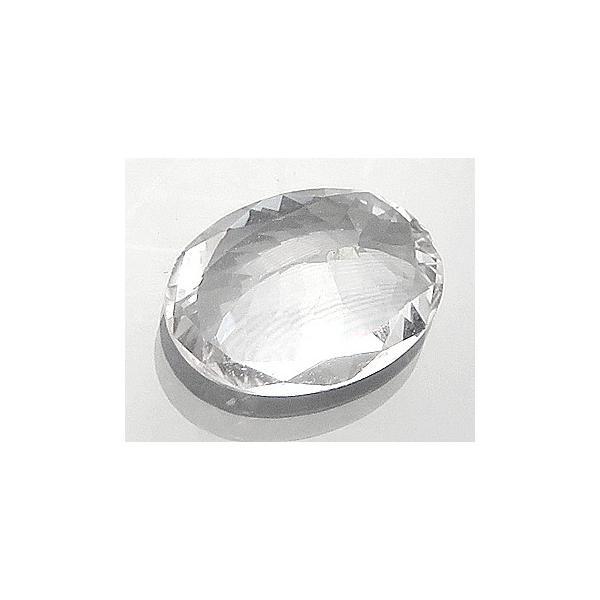 13089 エンスタタイト 1.38ct 珍しい無色透明 Embilipitiya スリランカ産 : 瑞浪鉱物展示館 【送料無料】
