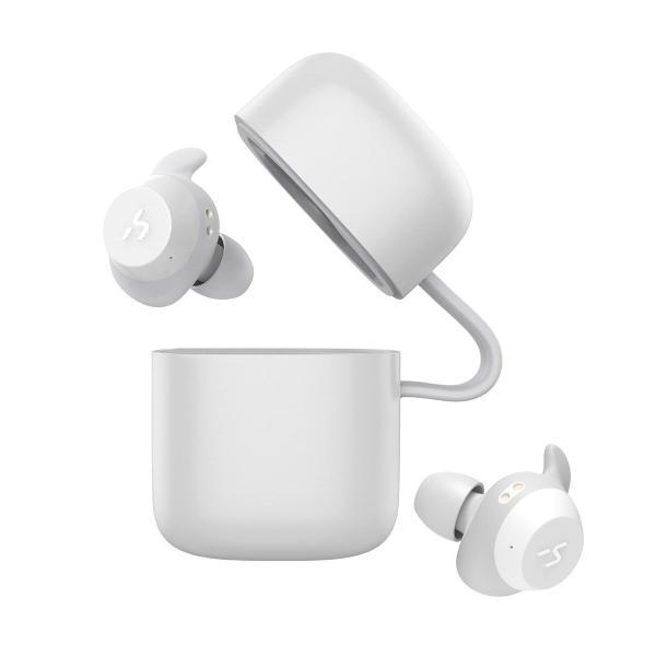 HAVIT Bluetooth イヤホン 完全ワイヤレスイヤホン「Bluetooth 5.0 」TWSイヤホンスポーツイヤホン PSE認証済/ G1白|mmart1