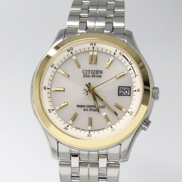 【7年保証】シチズン コレクション エコ・ドライブ 電波腕時計  メンズ  男性用 品番:FRD59-2393|mmco|02