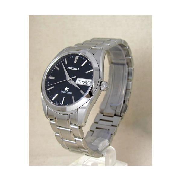 【7年保証】グランドセイコー(旧ロゴ)メンズ 男性用腕時計 【SBGT037】(国内正規品) クロス付|mmco|02