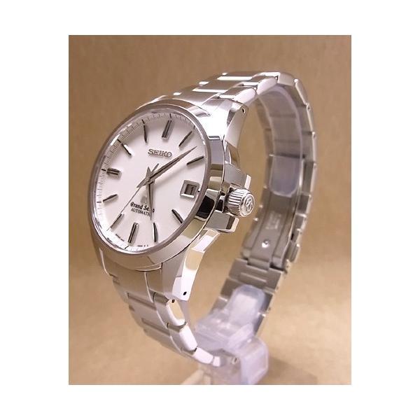 【7年保証】 グランドセイコー 旧ロゴ メンズ腕時計 オートマチック 品番:SBGR055 国内正規品 拭き布(クロス)付|mmco|02
