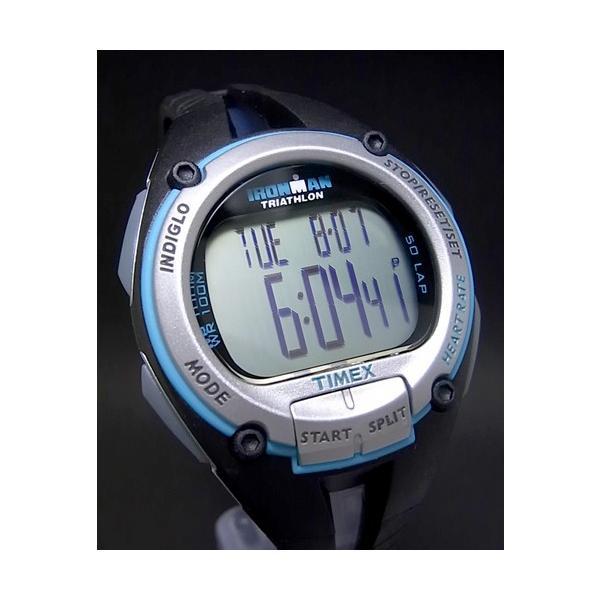 【7年保証】タイメックス腕時計 アイアンマン ロードトレーナー デジタル ハートレートモニター ミディアムサイズ【T5K214】 (国内正規品)|mmco