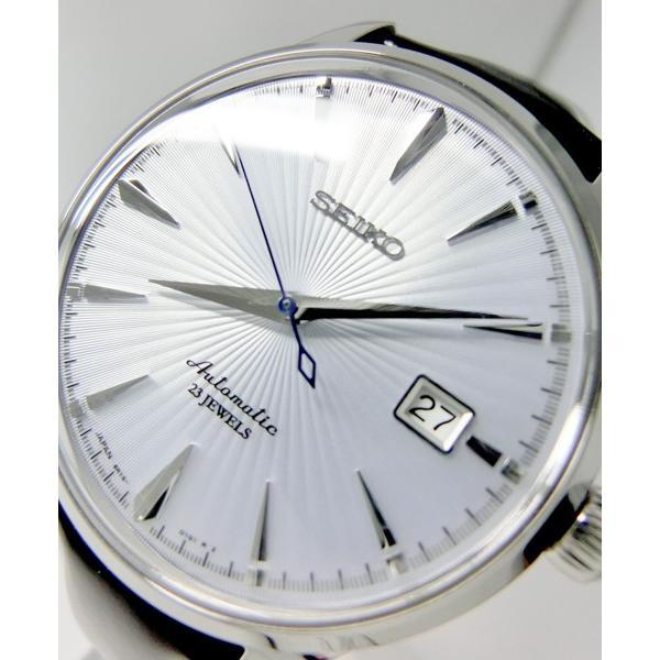 【7年保証】送料無料セイコーメカニカル メンズ 男性用腕時計 オートマチック(自動巻き) 【SARB065】 (国内正規品)|mmco|03