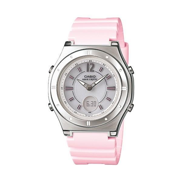【7年保証】カシオ(CASIO) レディース 女性用  ソーラー電波腕時計 WAVE CEPTOR【LWA-M142-4AJF】 (国内正規品)|mmco