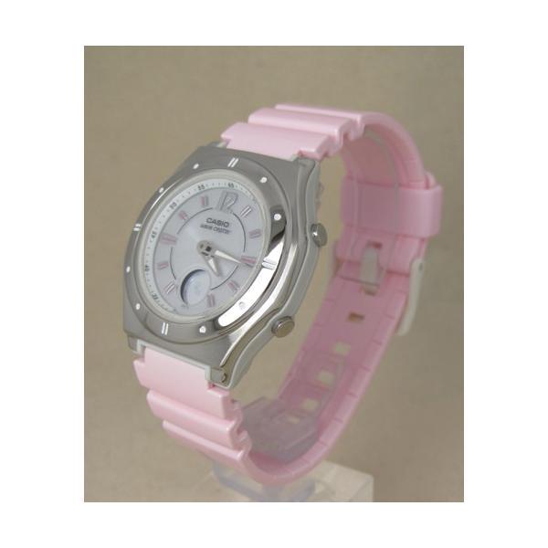 【7年保証】カシオ(CASIO) レディース 女性用  ソーラー電波腕時計 WAVE CEPTOR【LWA-M142-4AJF】 (国内正規品)|mmco|02