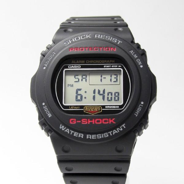 【7年保証】 CASIO G-SHOCK メンズ腕時計 【DW-5750E-1JF】 (正規品) 20気圧防水 mmco 02