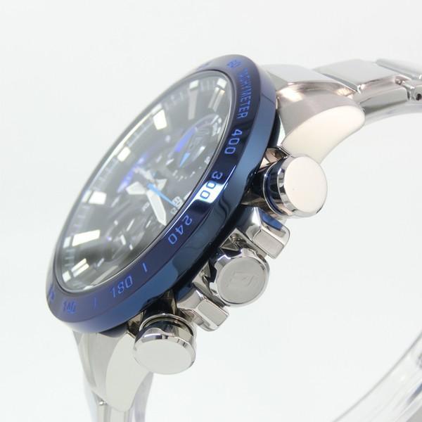 【7年保証】カシオ エディフィス モバイルリンク連携機能付 ソーラー メンズ 男性用腕時計 品番:EQB-800DB-1AJF|mmco|03