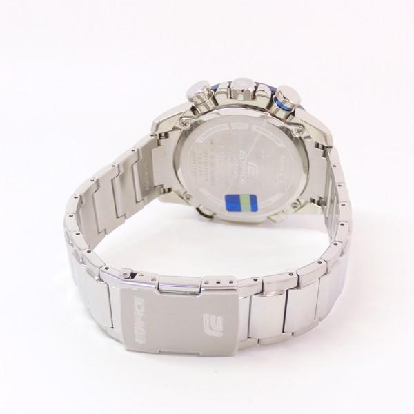 【7年保証】カシオ エディフィス モバイルリンク連携機能付 ソーラー メンズ 男性用腕時計 品番:EQB-800DB-1AJF|mmco|04