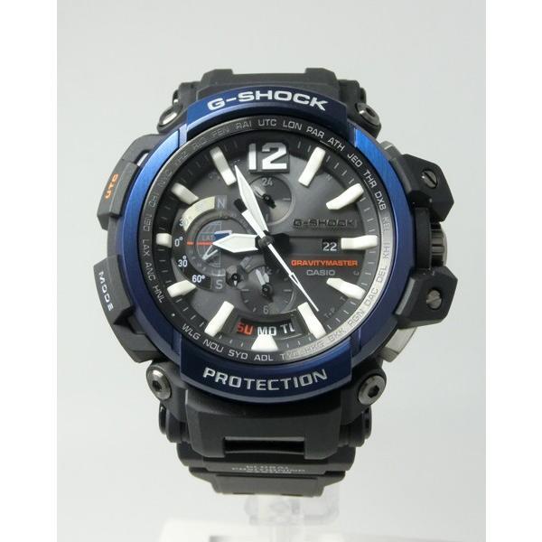 【7年保証】CASIO G-SHOCK グラビティマスター Bluetooth搭載GPSハイブリッド電波ソーラー 男性用腕時計  GPW-2000-1A2JF カシオメンズGショック|mmco|02