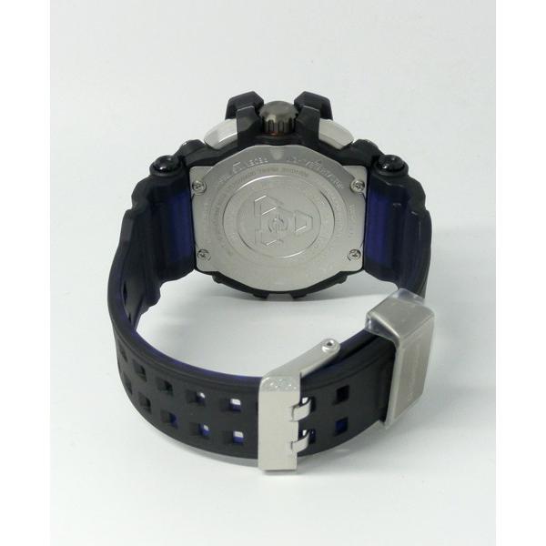 【7年保証】CASIO G-SHOCK グラビティマスター Bluetooth搭載GPSハイブリッド電波ソーラー 男性用腕時計  GPW-2000-1A2JF カシオメンズGショック|mmco|05