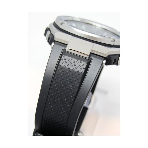 【7年保証】 CASIO G-SHOCK  レイヤーガード構造 Gスチール  GST-W110-1AJF 国内正規品  ソーラー電波  メンズ 男性用腕時計|mmco|03