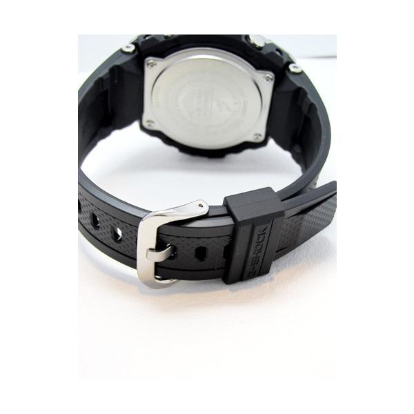 【7年保証】 CASIO G-SHOCK  レイヤーガード構造 Gスチール  GST-W110-1AJF 国内正規品  ソーラー電波  メンズ 男性用腕時計|mmco|04